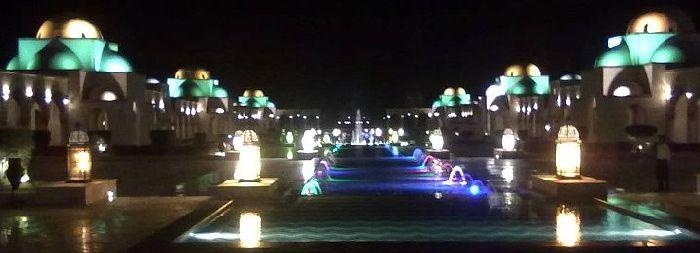 Sahl Hasheesh bei Nacht