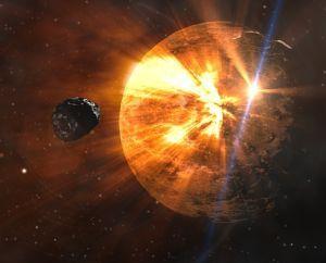 Asteroid Weltuntergang