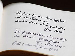 Biographie Erinnerungen