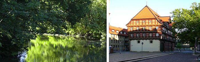 Fluss Oker Braunschweig