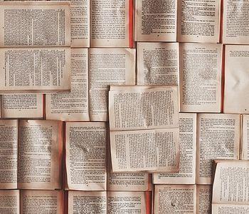 Viele Buchseiten