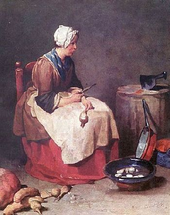 Genremalerei  Der Genremaler Jean Simeon Chardin