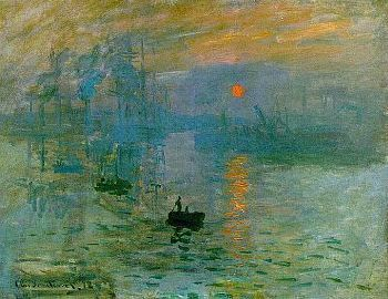 Claude Monet - Sonnenaufgang