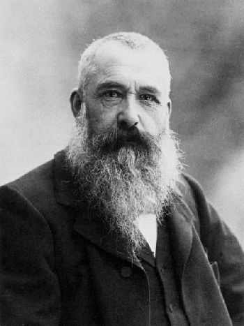 Der Maler Claude Monet