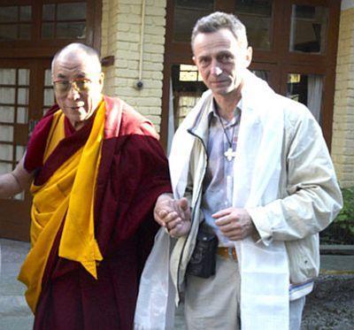Dalai Lama und Lothar Seifert