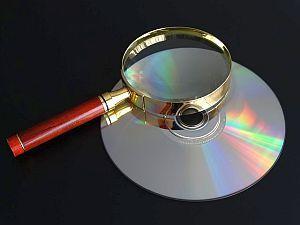 CD mit Daten