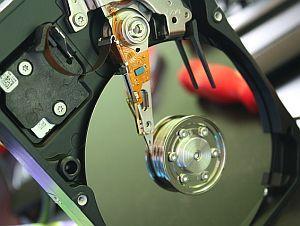 Datenspeicher Festplatte