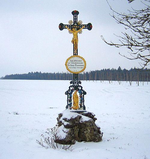 Denkmal Wegekreuz bei Aufham