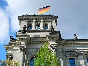Deutsche Flagge Berlin