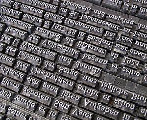 Dialekt Schrift Buchstaben