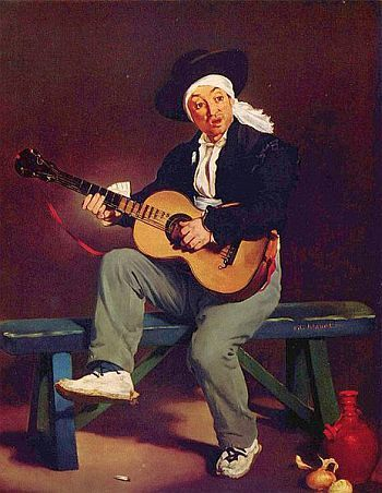 Der spanische Sänger