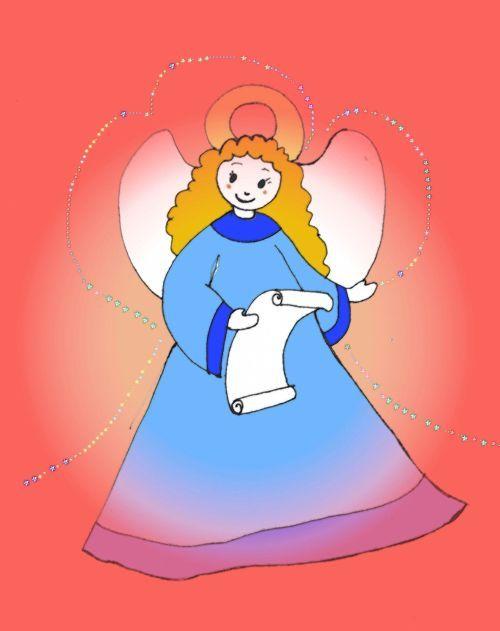 Zeichnung Engel