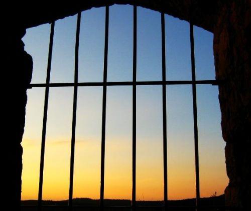 Gitter am Abend