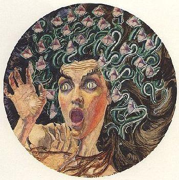 Die Lady mit der Schlangenkrone