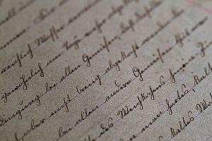 Handschrift Dokument