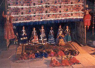 Rajasthan-Ensemble Puppenspiel
