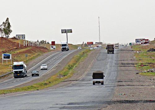 Highway im Irak