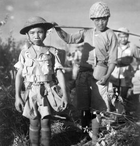 Kindersoldaten China 1944