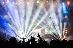 Konzert Publikum Show