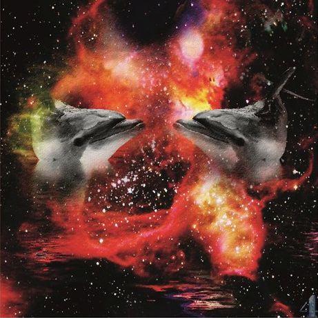 Krafttier Delphin