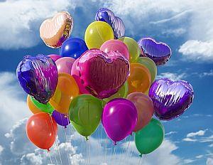 Luftballons im Karneval