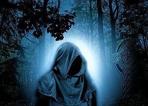 Magier im Wald