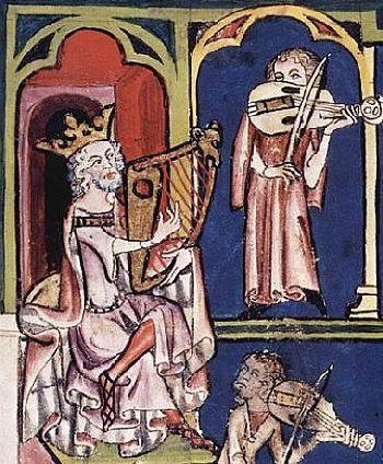 Der Harfner des Königs