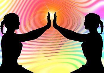 Menschen Ruhe Meditation