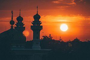 Moschee Wahrzeichen Islam
