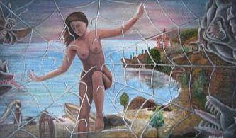 Gemälde von Nacka Kovacic: Gefangen
