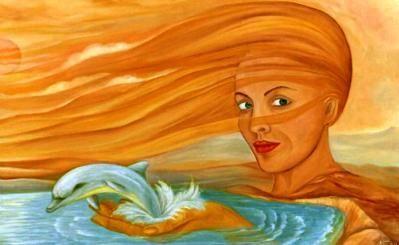 Gemälde von Nacka Kovacic: Mutter