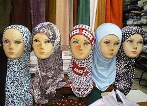 Kopftuch Puppen