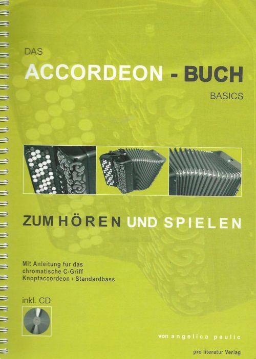 Accordeon-Buch von Angelica Paulic