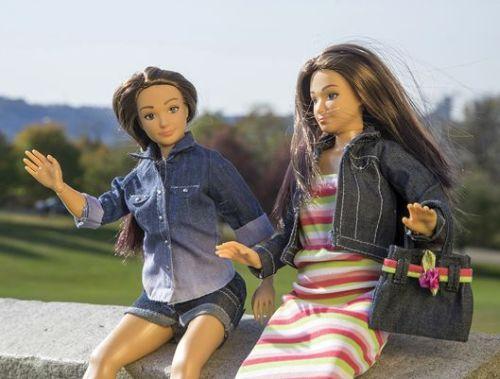 Der Puppentest: Lammily Dolls von Nickolay Lamm