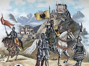 Ritter und Ritterburg