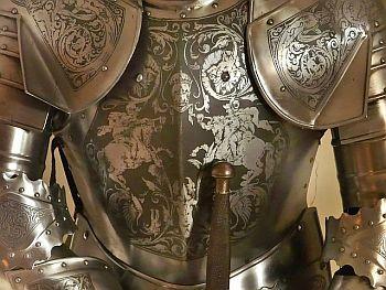Harnisch eines Ritters