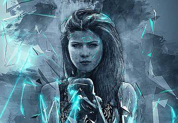 Fantasy-Zeichnung