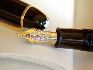 Schreiben mit Tinte