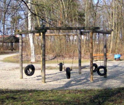 Spielplatz ohne Kinder