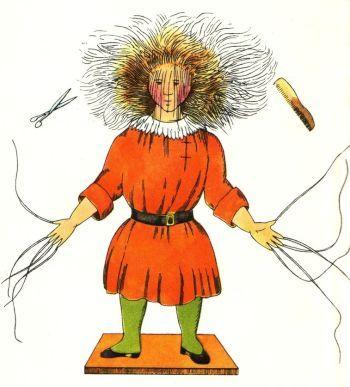 Zeichnung Struwwelpeter