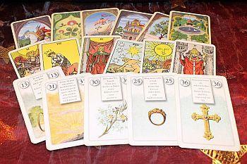 Tarotkarte: Die Liebenden Tarot