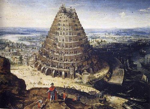 Lucas van Valckenborch: Turm zu Babel