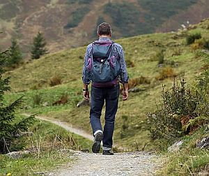 Wanderer in der Natur