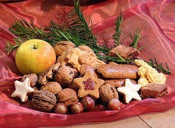 Weihnachten und Kekse