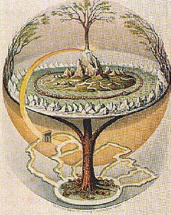 Weltenbaum Yggdrasil