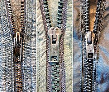 Zip-Verschluss