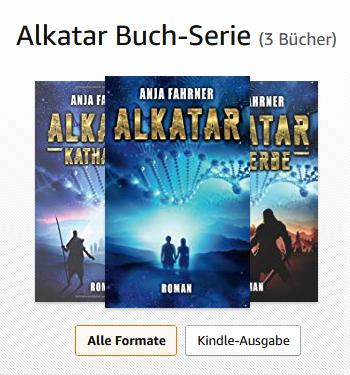 Science Fiction Buchserie: Alkatar