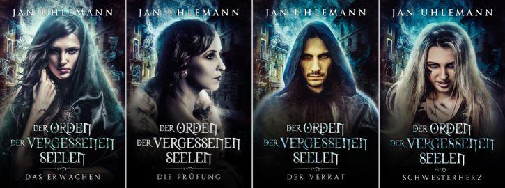 Jan Uhlemann: Paranormal-Fantasy-Serie