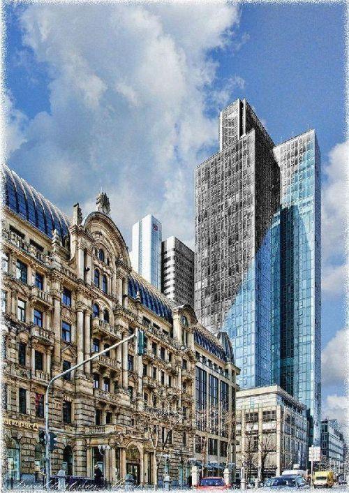 Frankfurter Banken: alt gegen neu