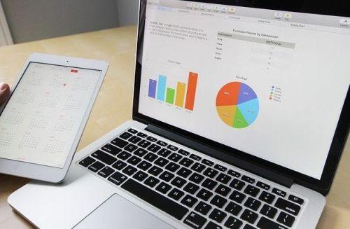 Tabelle mit Laptop bearbeiten